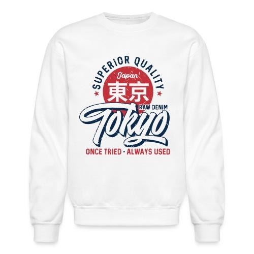 tokyo superior quality japan - Unisex Crewneck Sweatshirt