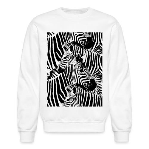Zebras - Unisex Crewneck Sweatshirt