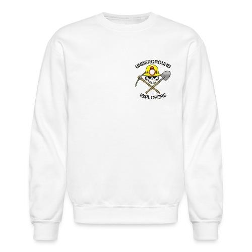 Miner Logo Black Text 08 20 14 png - Unisex Crewneck Sweatshirt