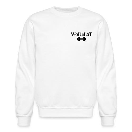WoDaLoT black logo - Unisex Crewneck Sweatshirt