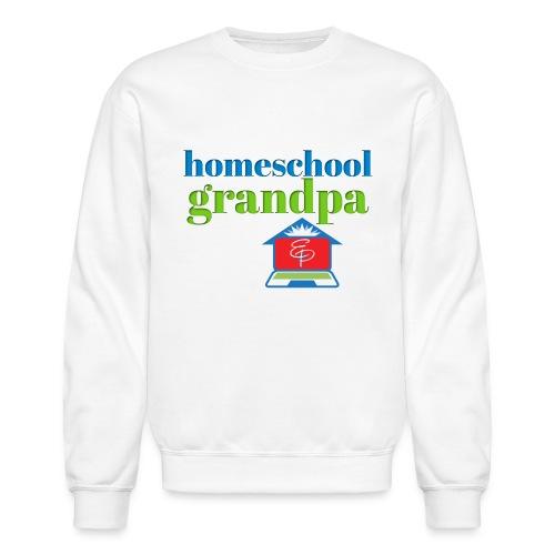 Homeschool Grandpa - Unisex Crewneck Sweatshirt