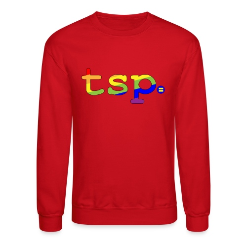 tsp pride updated 01 - Unisex Crewneck Sweatshirt