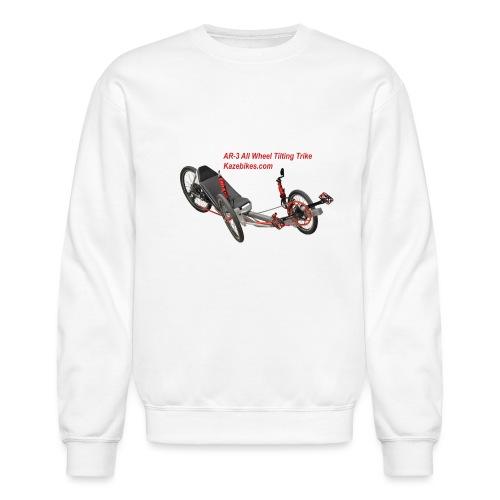 AR-3 All wheel Tilting Trike - Unisex Crewneck Sweatshirt