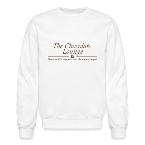 The Chocolate Lounge T shirt design 1 - Unisex Crewneck Sweatshirt