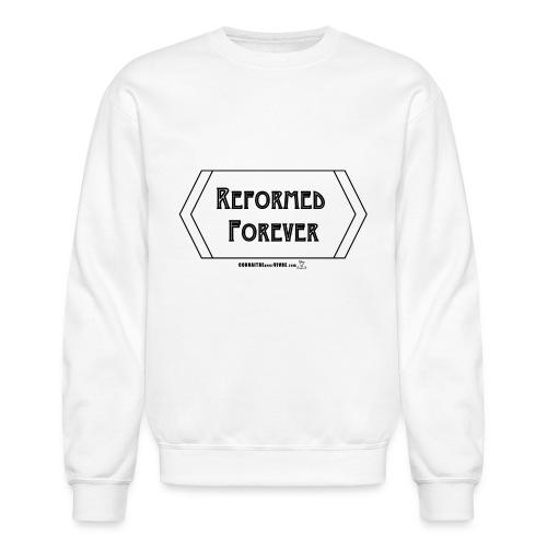 Reformed Forever [Noir] - Chandail à encolure ras-du-cou unisexe