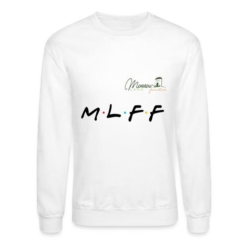 MLFF with logo - Unisex Crewneck Sweatshirt