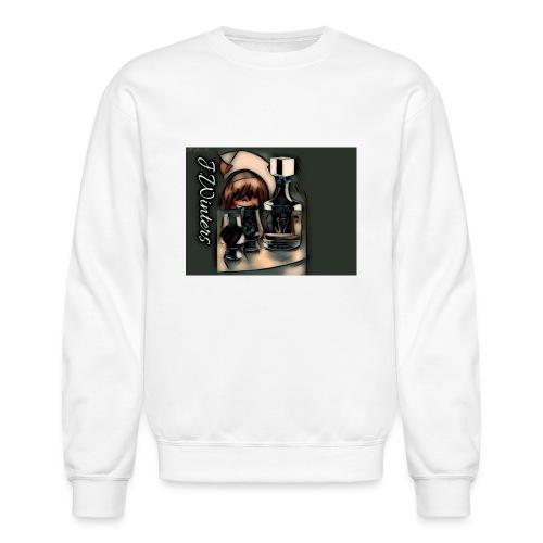 Cold hearted ice line - Unisex Crewneck Sweatshirt