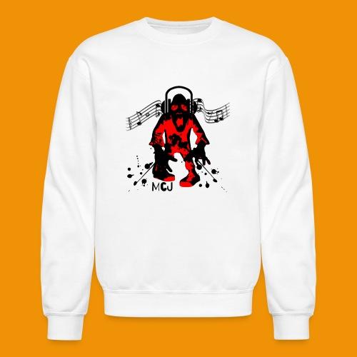Music Zombie - Unisex Crewneck Sweatshirt