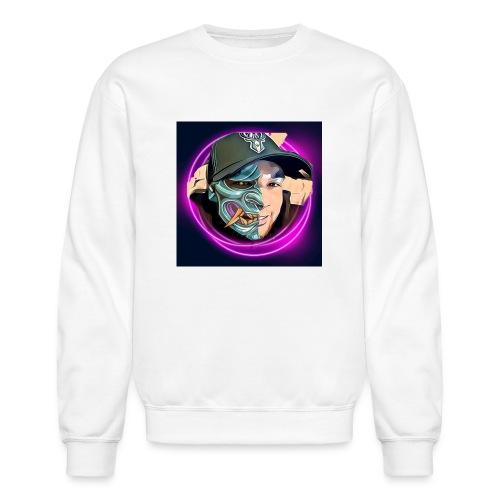 Oni mask - Unisex Crewneck Sweatshirt