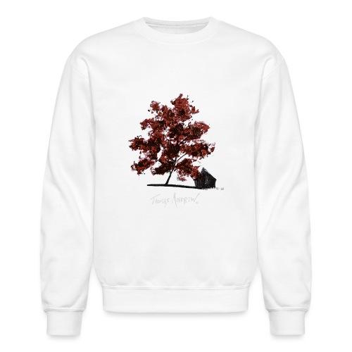 Red Tree design3PNG - Unisex Crewneck Sweatshirt