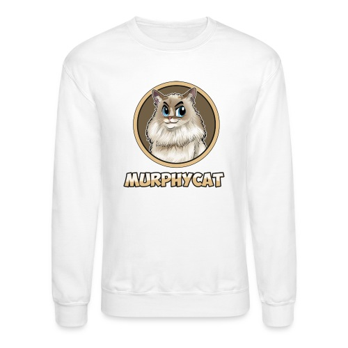 MURPHYCAT LOGO - Unisex Crewneck Sweatshirt