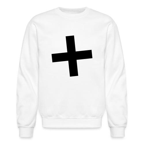 Plus Brandmark Black - Unisex Crewneck Sweatshirt