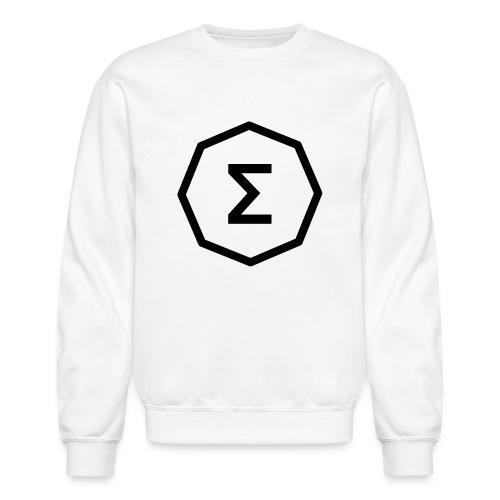 Ergo Symbol White - Unisex Crewneck Sweatshirt