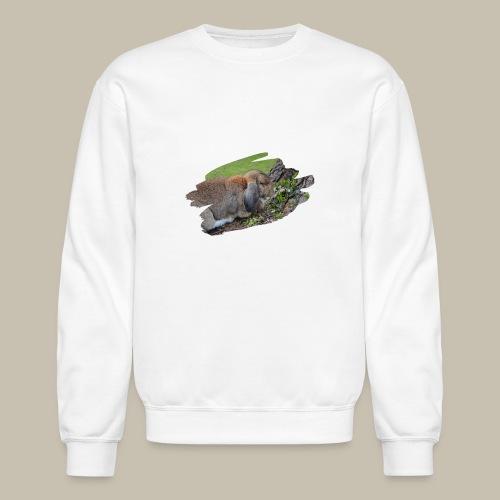 French Lop Brush Stroke - Unisex Crewneck Sweatshirt