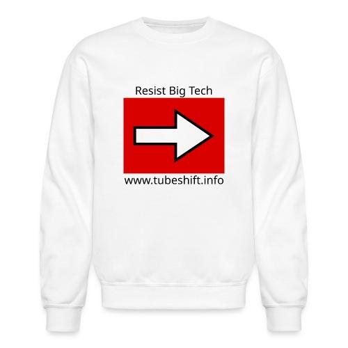 Resist With TubeShift - Unisex Crewneck Sweatshirt