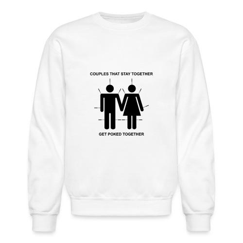 Poked Together - Unisex Crewneck Sweatshirt