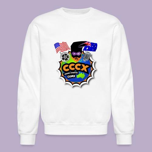 Cross Country Comx CCCX Live Show Logo - Unisex Crewneck Sweatshirt