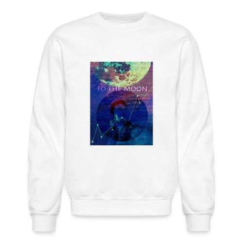DOGE TO THE MOON - Unisex Crewneck Sweatshirt