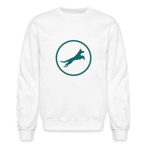 Born2BWild Logo2 - Unisex Crewneck Sweatshirt