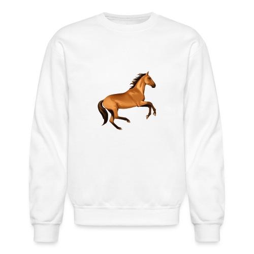 horse riding - Unisex Crewneck Sweatshirt