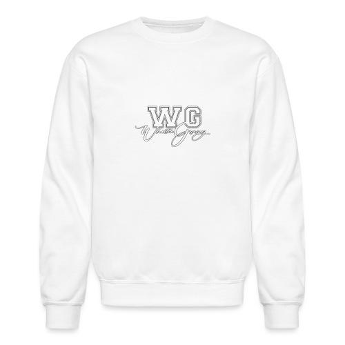WG design white - Unisex Crewneck Sweatshirt