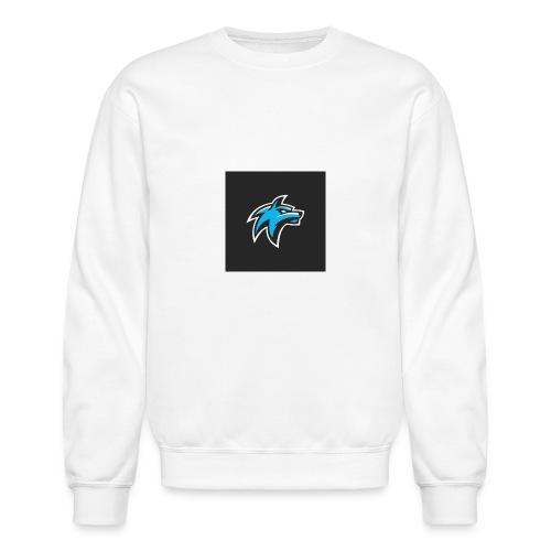 wolf head esport gaming logo vector 44095 55 - Unisex Crewneck Sweatshirt