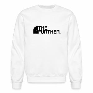 THE FURTHER FACE (BLACK LOGO) - Crewneck Sweatshirt