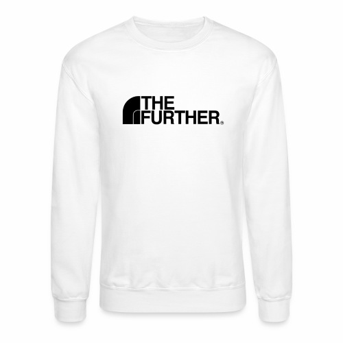 THE FURTHER FACE (BLACK LOGO) - Crewneck Sweatshirt