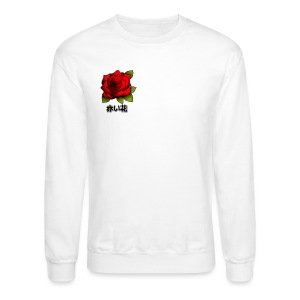 Red Flower Aesthetic Japanese - Crewneck Sweatshirt