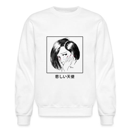 Sad Angel - Crewneck Sweatshirt