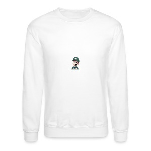 Luigi from (Mario)The Music Box By Team Ari - Crewneck Sweatshirt