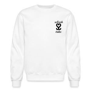 SCHREIB TRIBE MERCH BLACK LOGO - Crewneck Sweatshirt