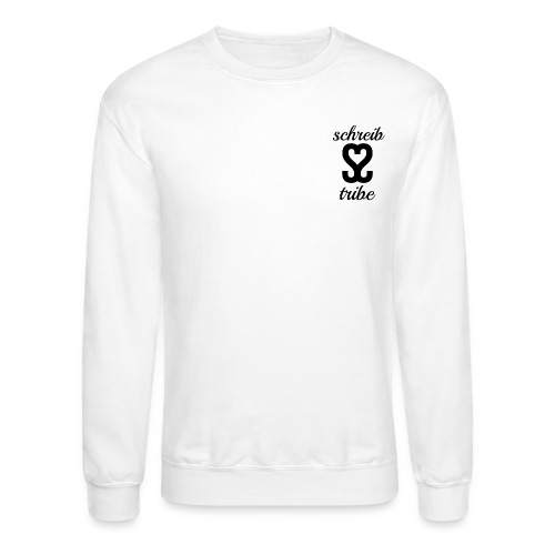 SCHREIB TRIBE MERCH BLACK LOGO - Crewneck Sweatshirt
