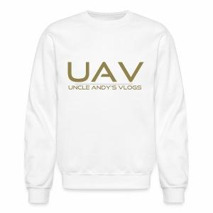 Uncle Andy's Vlogs Merch (gold) - Crewneck Sweatshirt