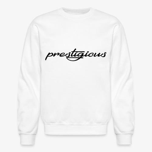 Prestigious Black Logo - Crewneck Sweatshirt