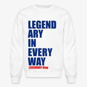 Legendary King - Crewneck Sweatshirt