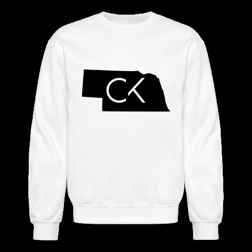 State of Nebraska Conor Keating Logo (White) - Crewneck Sweatshirt