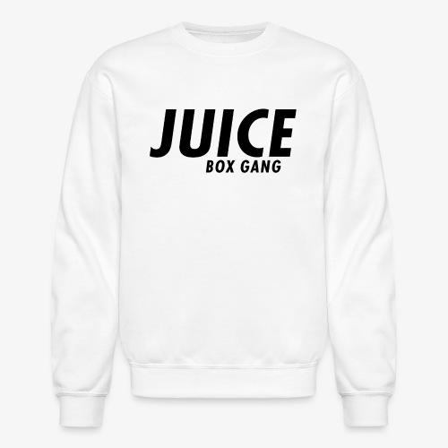 JBG white on black - Crewneck Sweatshirt