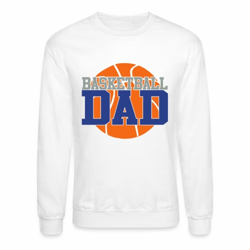 Basketball dad - Crewneck Sweatshirt
