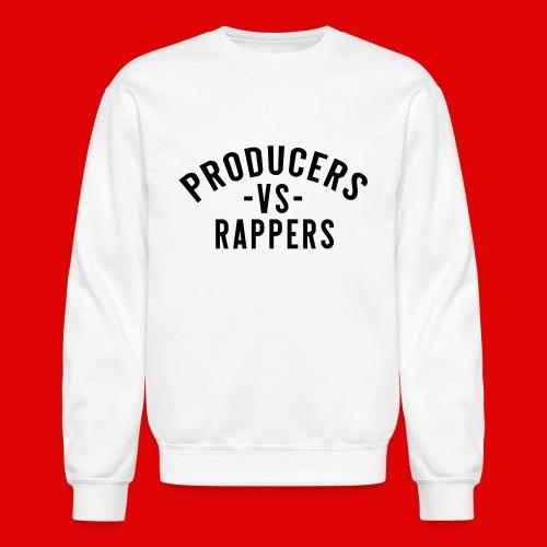 PRODUCERS -VS- RAPPERS (BLKWRDS) BY SHAWTYREDD - Crewneck Sweatshirt