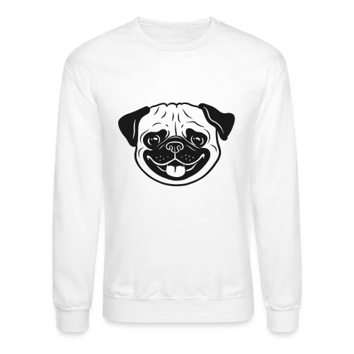Cute pug - Crewneck Sweatshirt