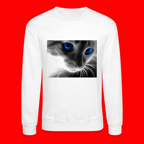 sly cat - Crewneck Sweatshirt