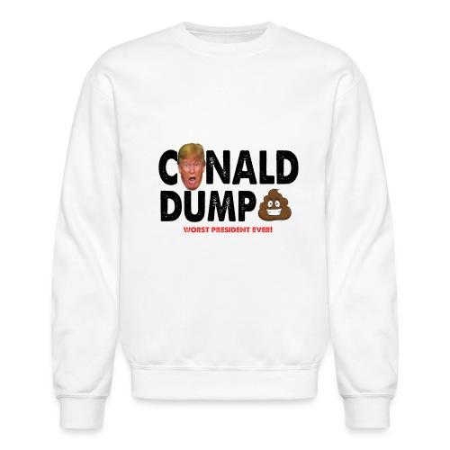 Conald Dump Worst President Ever - Crewneck Sweatshirt