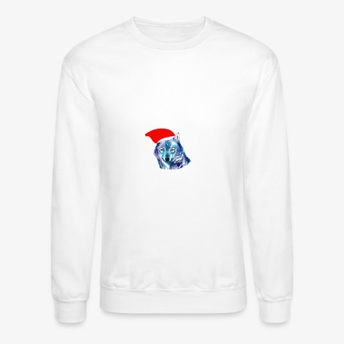 wolf nation chrismas limited time only - Crewneck Sweatshirt