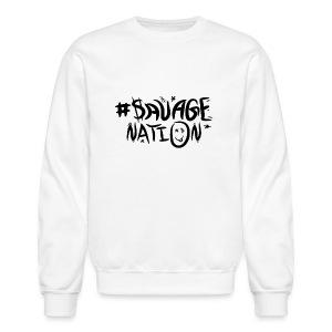 SAVAGE NATION classic black - Crewneck Sweatshirt