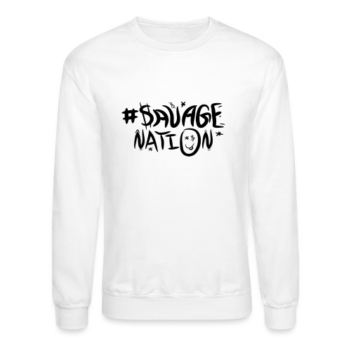 SAVAGE NATION classic black - Crewneck Sweatshirt