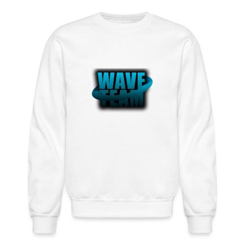 Wave Team Surf Logo - Crewneck Sweatshirt