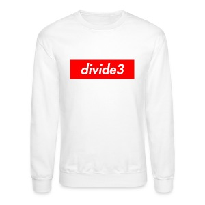 divide3 - Crewneck Sweatshirt