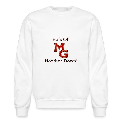 Hoodies Down! - Crewneck Sweatshirt