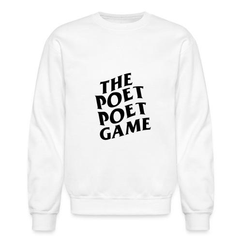 The Poet Game *ASSC* Edition Merch - Crewneck Sweatshirt